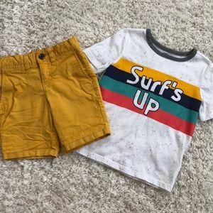 Toddler boy outfit bundle!